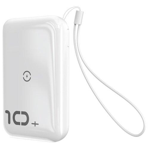 Аккумулятор Baseus Mini S Bracket 10W Wireless Charger 10000mAh белый