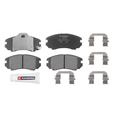 Дисковые тормозные колодки передние Marshall M2623891 для Hyundai Sonata, Hyundai Tucson (4 шт.)