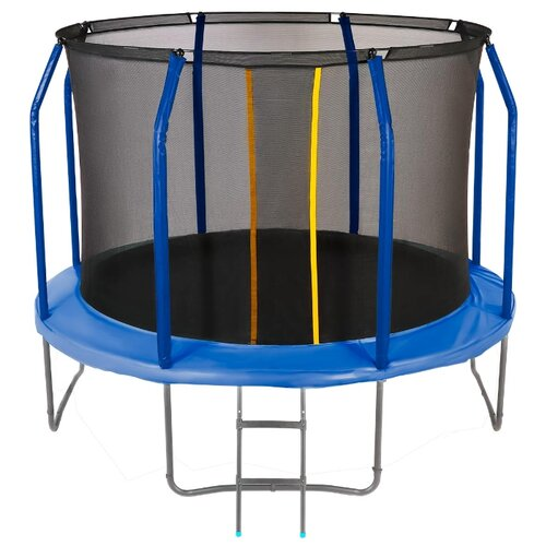 Каркасный батут JUMPY Premium 10 FT 305х305х238 см blue