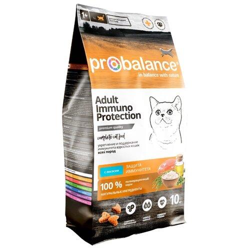 Сухой корм для кошек ProBalance с лососем 10 кг