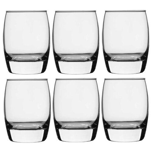 Pasabahce Набор стаканов Pleasure 350 мл 6 шт прозрачный цена 2017