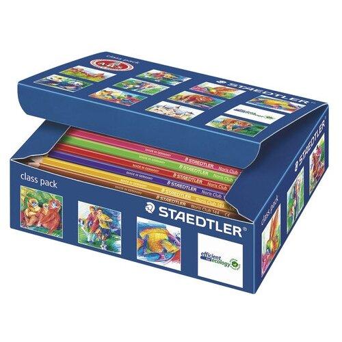 Купить Staedtler Карандаши цветные Noris Club, 12 цветов, 144 штук (144 C144), Цветные карандаши