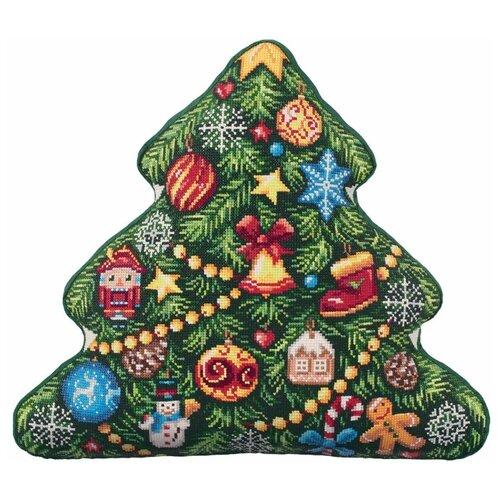 Купить PANNA Набор для вышивания Подушка Елка 44 х 40 см (PD-7083), Наборы для вышивания