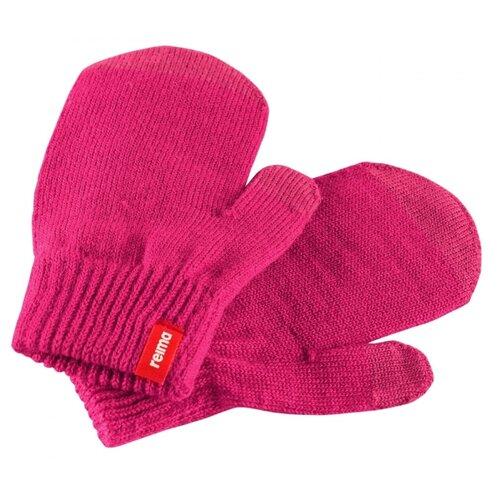 Варежки Renn Reima, розовый, размер 1 reima брюки для мальчиков reima slana размер 122