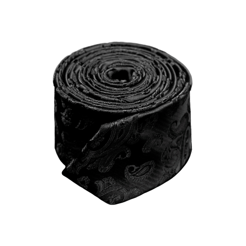 Галстук Signature 89041 черный, графит