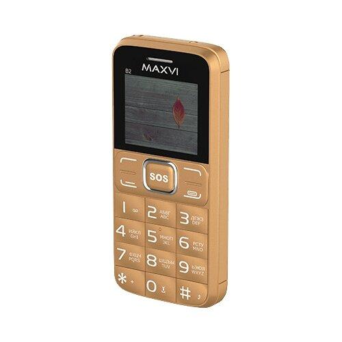 Телефон MAXVI B2 золотой