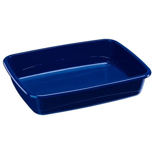 Туалет-лоток для кошек Ferplast NIP 10 46.5х35.5х11.5 см синий 1 шт.