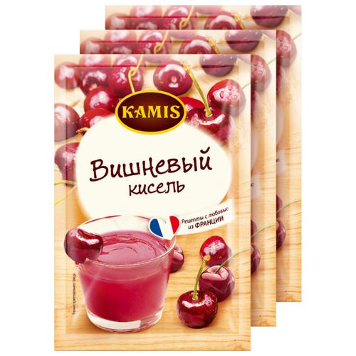 Кисель KAMIS Кисель моментального приготовления Вишневый 3 шт. по 30 г
