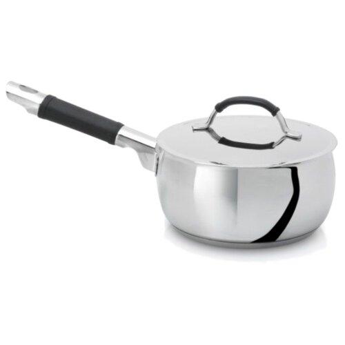 Фото - Сотейник Silampos Mask 16 см с крышкой, серебристый/черный сковорода silampos europa 24 см серебристый
