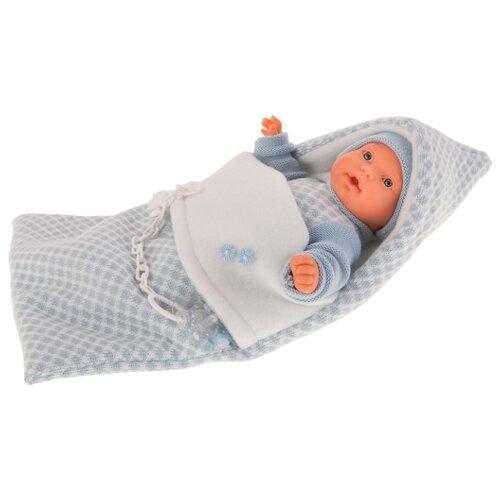 Купить Кукла Antonio Juan Мерсе в голубом в конверте, 27 см, 1115B, Куклы и пупсы