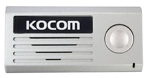 Вызывная (звонковая) панель на дверь Kocom KC-MD10 серебро