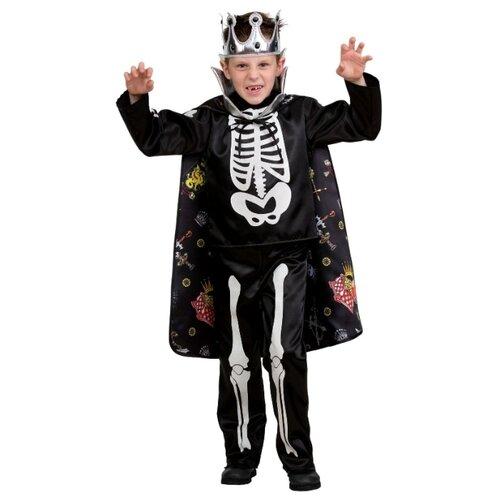Купить Костюм Батик Кащей Бессмертный сказочный (5215), черный, размер 128, Карнавальные костюмы