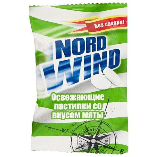Пастилки Nord Wind освежающие со вкусом мяты без сахара 25 г горпилс лимон 12 пастилки