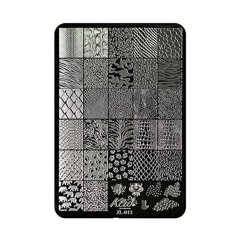 Купить Трафарет KLIO Professional №013 11 х 15 см black