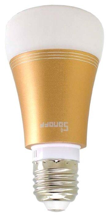 Лампа светодиодная Sonoff B1 gold, E27, 6Вт фото 1