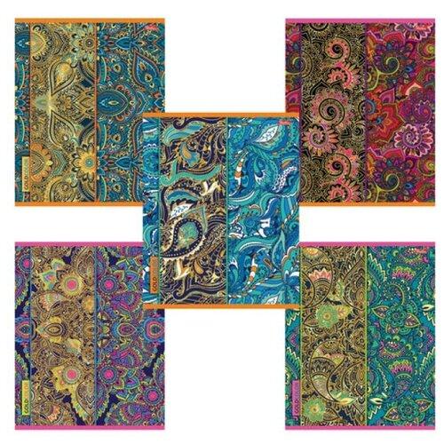 Купить Hatber Тетрадь Gold Color 049008, клетка, 48 л., Тетради