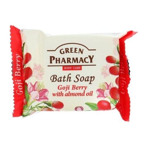 Купить Мыло кусковое Green pharmacy Ягоды годжи с миндальным маслом, 100 г