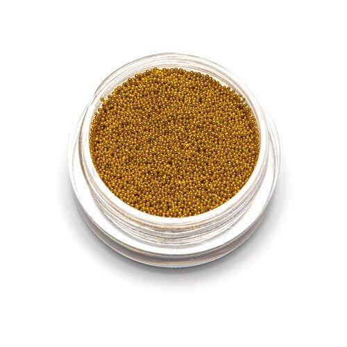 Бульонки TNL Professional супер мелкие 0,4 мм 3 г золото
