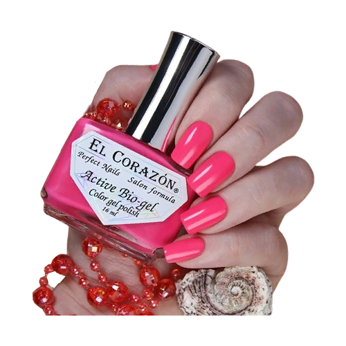 Гель El Corazon Active Bio-gel polish Cream, 16 мл, 423/348 chi luxury black seed oil curl defining cream gel