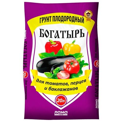 Грунт ЛамаТорф Богатырь для томатов, перцев и баклажанов 20 л.