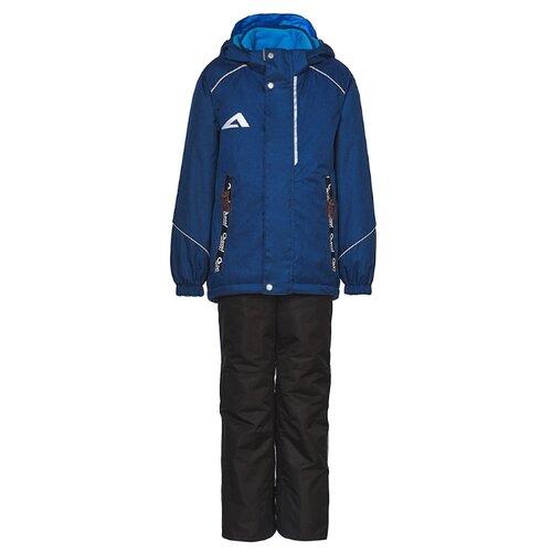 Фото - Комплект с брюками Oldos Хьюго ASS201T1SU09 размер 86, синий/черный свитшот oldos размер 86 синий