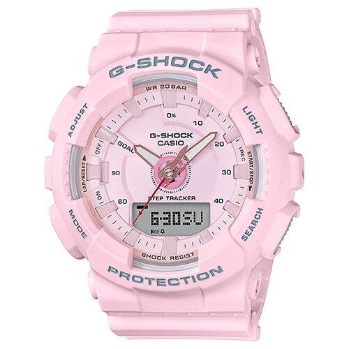 цена Наручные часы CASIO GMA-S130-4A онлайн в 2017 году