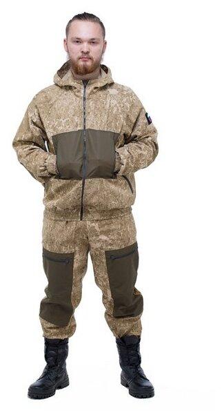 """Купить Летний камуфляжный костюм ТАЙГАН """"Пилот-3"""" твил, песочный пиксель, размер 48 по низкой цене с доставкой из Яндекс.Маркета"""