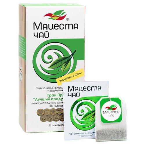 Чай зеленый Мацеста Премиум в пакетиках , 25 шт. фото
