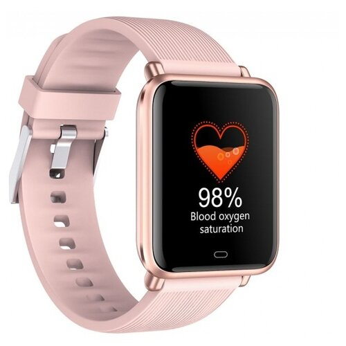 Умные часы GARSline Q9T, розовый