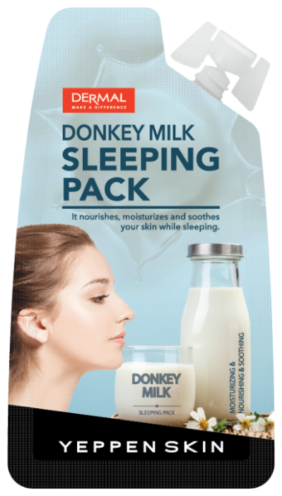 Yeppen Skin Donkey Milk Sleeping Pack Ночная маска с молоком ослицы