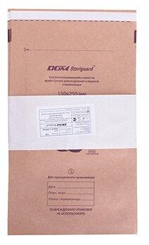 Пакет для стерилизованных инструментов DGM Крафт-пакеты для стерилизации 150x250, 100 шт.