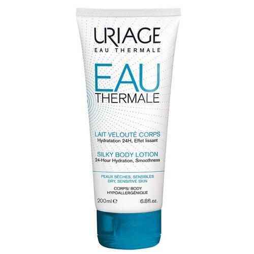 Молочко для тела Uriage Eau Thermale увлажняющее для тела, тюбик, 200 мл урьяж мицеллярная вода очищающая для кожи склонной к покраснению 250 мл uriage гигиена uriage