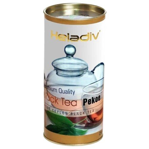 Чай черный Heladiv Premium Quality Black Tea Pekoe, 70 г чай черный heladiv pekoe classic black tea 100 г 2 уп