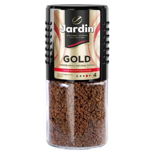 Кофе растворимый Jardin Gold, стеклянная банка, 95 г