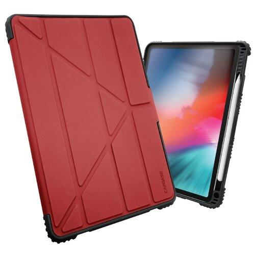 Фото - Противоударный чехол BUMPER FOLIO Flip Case для iPad 9.7 2017/iPad 9.7 2018, красный аксессуар чехол speck balance folio print для ipad 9 7 2017 bikeparts black ash grey 91503 6847