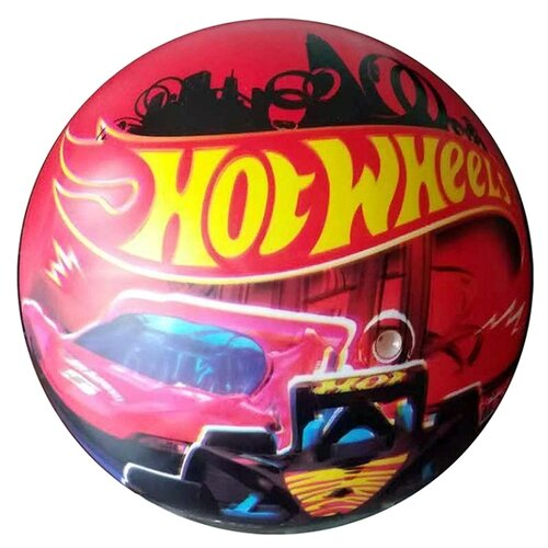 Мяч Играем вместе Hot Wheels красный