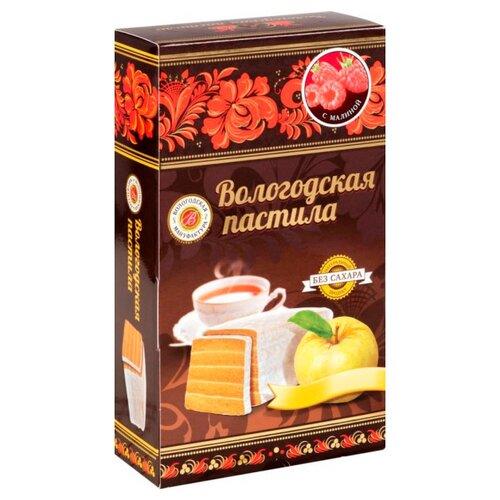 Пастила Вологодская мануфактура с малиной без сахара, 230 г