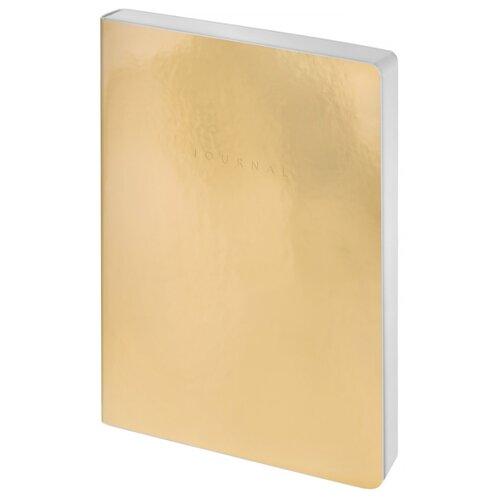 Купить Ежедневник Greenwich Line Galaxy. Golden Mirror недатированный, искусственная кожа, А6, 80 листов, золотистый, Ежедневники, записные книжки