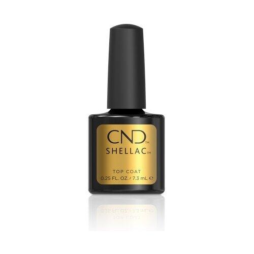CND верхнее покрытие Shellac Top Coat 7.3 мл прозрачный