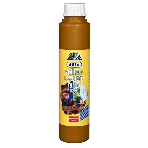 Колеровочная краска Dufa Vollton und Abtonfarbe D230 охра 0.75 л