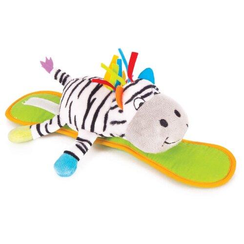 Подвесная игрушка Happy Snail Зебра Фру-Фру (14HSK06FR) белый/зеленый happy snail музыкальная игрушка happy snail весёлая фру фру