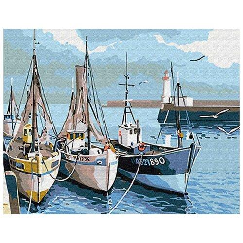 Фото - Картина по номерам Водный транспорт, 30х40 см цветной картина по номерам белый тигр 30х40 см me1072