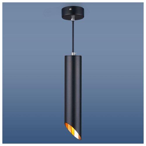 Светильник Elektrostandard 7011 MR16 BK/GD, GU10, 50 Вт светильник elektrostandard 1081 5257 gu10 4690389104381
