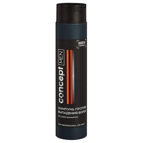 Concept шампунь Men No Loss против выпадения волос, 300 мл ducray неоптид лосьон от выпадения волос для мужчин 100 мл