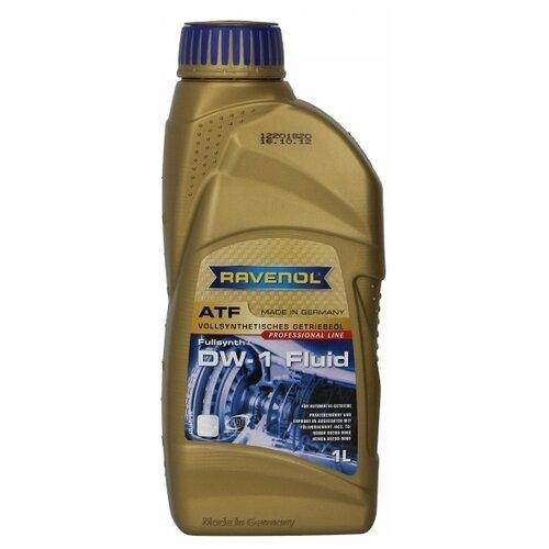 Масло трансмиссионное Ravenol ATF DW-1 Fluid, 1 л трансмиссионное масло ravenol dps fluid 1 л