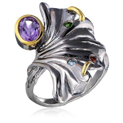 Бронницкий Ювелир Кольцо из серебра SZ561R018, размер 17 бронницкий ювелир кольцо из серебра s85610001 размер 17 5