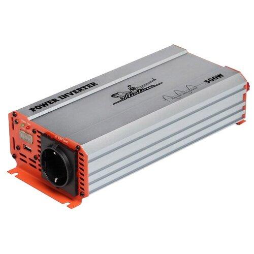 Инвертор Airline API-600-05 500W серебристый/оранжевый