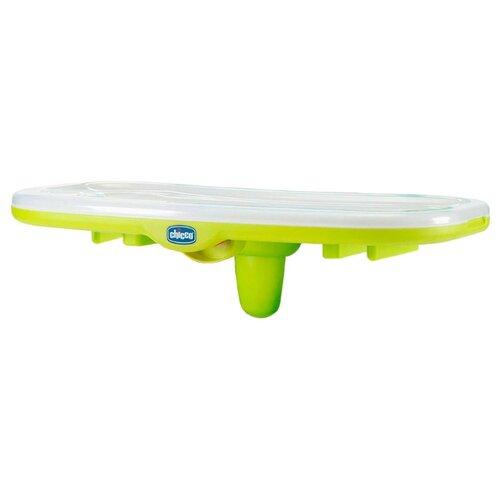 Купить Съемный столик Chicco к стульчику Chicco Polly c разделителем салатовый, Стульчики для кормления