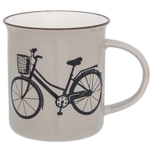 Elan gallery Кружка Велосипед 320 мл капучино набор кружек 2 предмета 320 мл 12х8 5х10 5 см elan gallery арабески бело бирюзовые