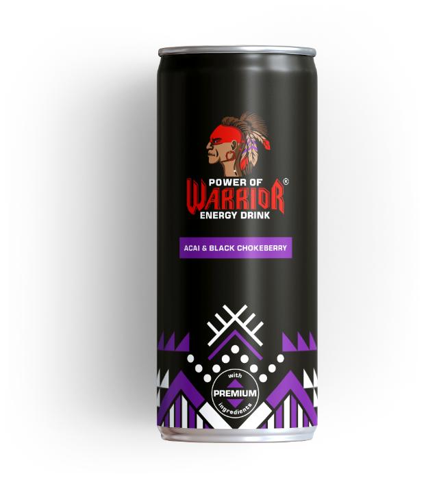 Купить Power of Warrior Acai&Black Chokeberry 0,33 л энергетический напиток с органическими ингредиентами по низкой цене с доставкой из Яндекс.Маркета (бывший Беру)